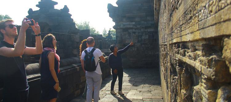 Explore the temple